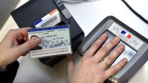 Carte d'identité biométrique