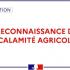 Reconnaissance de l'état de calamité agricole – Températures basses du 24 et 25 mars 2020
